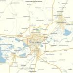 Карта Ростовская